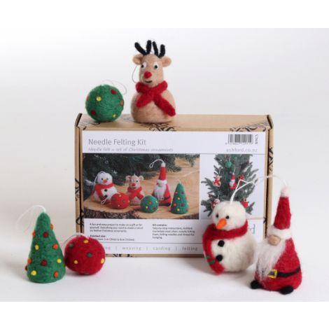 Needle Felting Kit Christmas Special