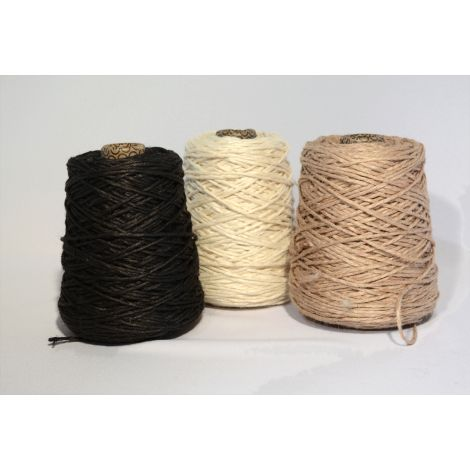 Jute yarn on conical spool