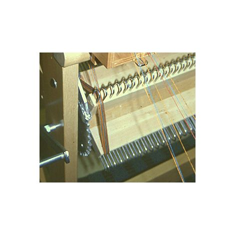 Sectional warp beam for Toika loom