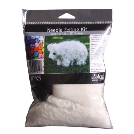 Needle felting kit SHEEP