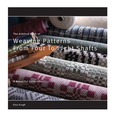 Book of Weaving Patterns from Four to Eight Shafts, Elsa Krogh
